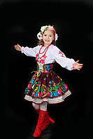Український національний костюм для дівчинки №5(116-156см.)