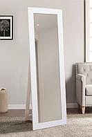 Напольное зеркало в белом цвете 1900х600 мм