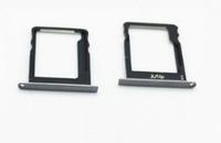 Лоток для сим карты и карты памяти для Huawei P8 Lite (ALE-L21), черный, комплект 2 шт.
