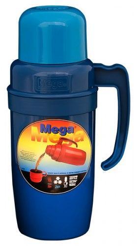 Термос 0,75 л Mega PR075 синий