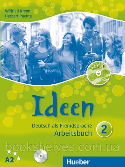 Ideen 2 Arbeitsbuch + Audio-CDs