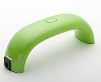 LED лампа для сушки гель-лака Supretto Tech Салатовый (4718-0006)