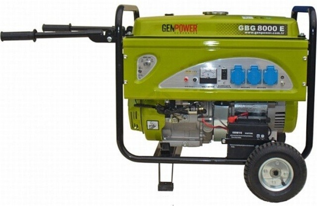 Генератор бензиновый Genpower GBG 8000E 6,5(8,0)кВт