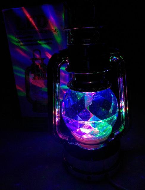 Диско лампа Ліхтар LED світлодіодна, що обертається