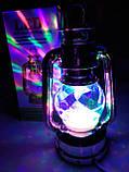 Диско лампа Ліхтар LED світлодіодна, що обертається, фото 2