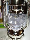 Диско лампа Ліхтар LED світлодіодна, що обертається, фото 5