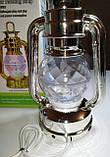 Диско лампа Ліхтар LED світлодіодна, що обертається, фото 6