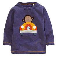 Кофта для мальчика Обезьяна гонщик Jumping Beans (5 лет)