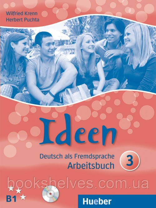 Ideen 3 Arbeitsbuch + Audio-CDs