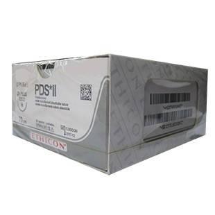 Хірургічний шовний матеріал ПДС II 2-0 кількість 40мм 1/2 70см W9151Т, фото 2