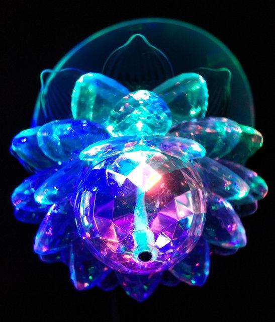 Диско лампа Цветок LED светодиодная E27