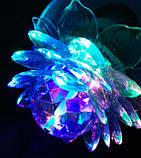 Диско лампа Цветок LED светодиодная E27, фото 2
