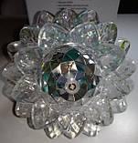 Диско лампа Цветок LED светодиодная E27, фото 3