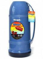 Термос 1,6 л Mega ET160 синий