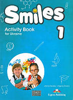 Smiles 1 Activity Book  (with stickers & cards inside)  for Ukraine