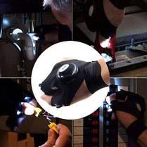Перчатка с светодиодной подсветкой   Фонарик на руку DreamTon, фото 2