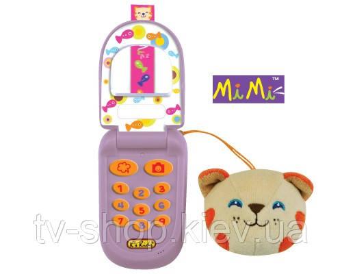 Музыкальный телефон ks kids с записью