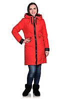 Весеннее пальто Milano, Красный
