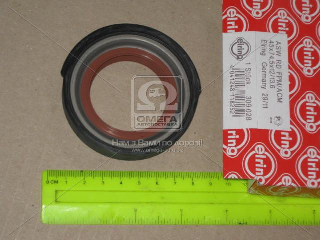 Сальник FRONT MB 45X74.5X12/13.6 OM616 (Производство Elring) 309.028