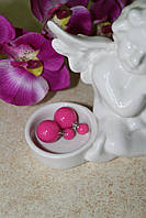 Серьги Mise en Dior (розовые)