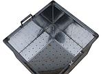 Корзина для забруса, нержавеющая сталь, 440х390х280 мм, фото 2