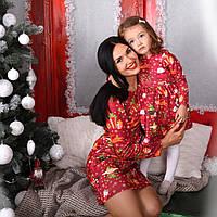 Комплект платьев мама и дочка (2911/16)