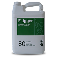 Полиуретан-акриловый лак Flugger Floor Varnish 80, 5 л