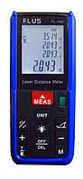 Лазерний далекомір ( лазерна рулетка ) Flus FL-100 (0,039-100 м) проводить вимірювання V, S, H, фото 1
