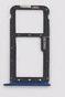 Лоток для сим карты и карты памяти для Meizu M6 Note (M721H), синий