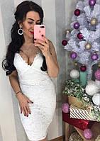 Женское роскошное платье из кружева (2 цвета), фото 1
