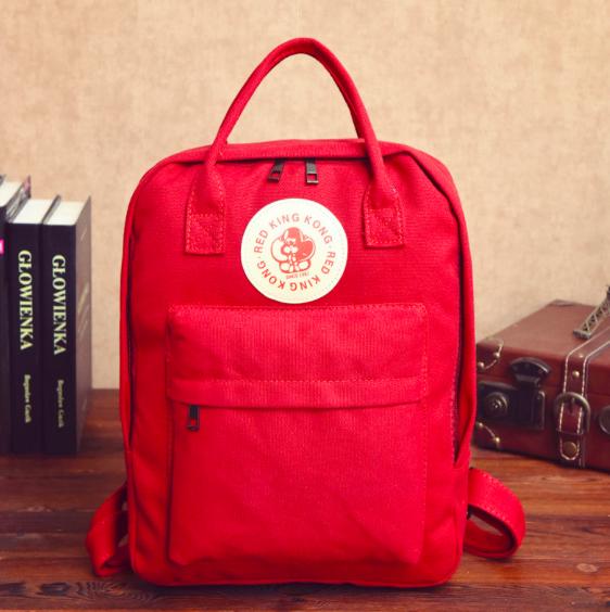 Рюкзак молодежный городской сумка Red King Красный