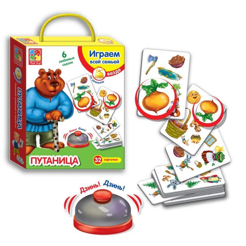 Игра со звонком Vladi Toys Путаница (VT2103-03)