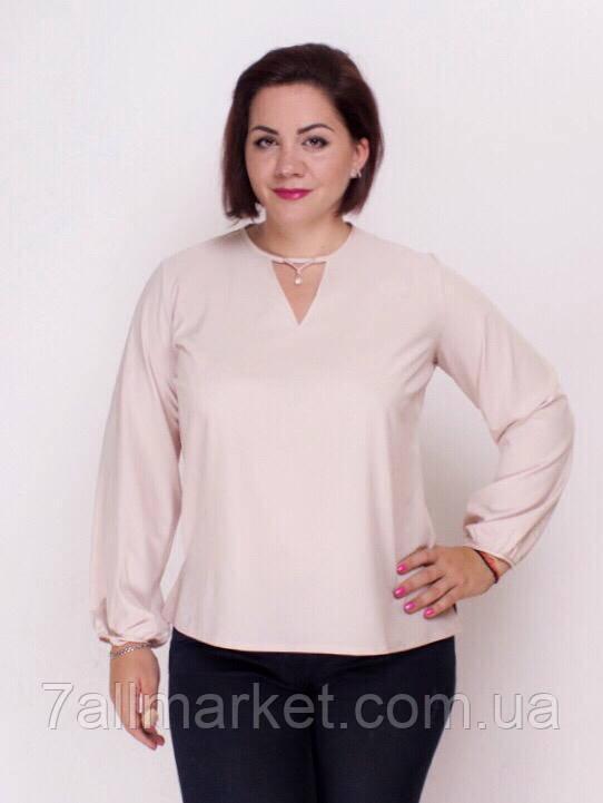 cc44dd4f955 Блузка женская нарядная с каплей