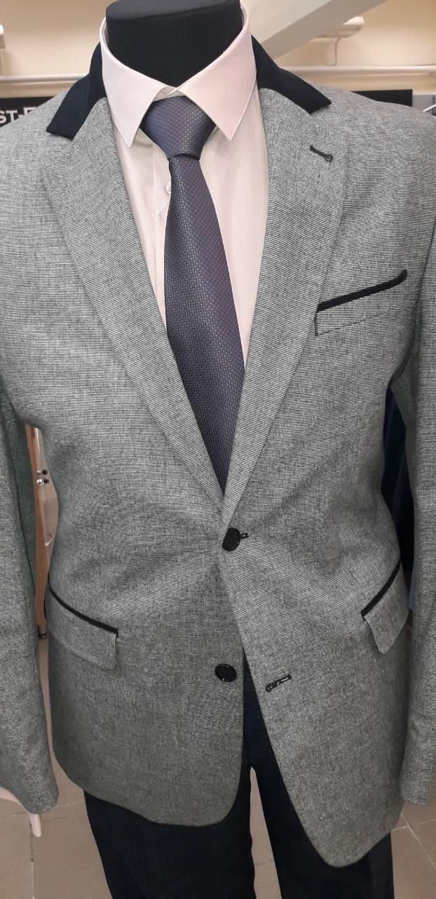 Пиджак мужской полушерстяной BRAGA Украины модель 2КY