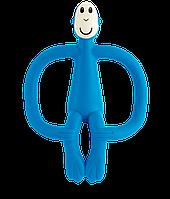 Matchstick Monkey - Игрушка-прорезыватель Обезьянка, цвет синий, фото 1