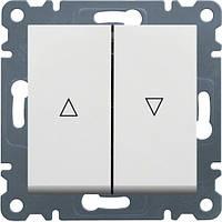 Вимикач для жалюзі Контактор LUMINA2 Hager білий WL0320