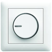Светорегулятор поворотный диммер LUMINA2 Hager белый WL4010