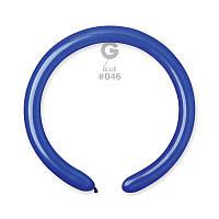 Латексные воздушные шары Gemar D4, расцветка: Пастель темно-синий, Шар для моделирования, шар конструктор 260