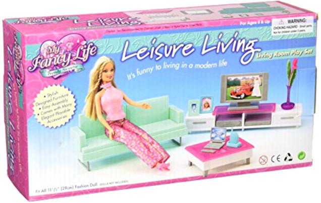 """Меблі для ляльок 2804 """"Вітальня модерн"""""""