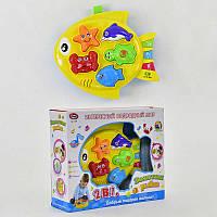 """JT Игра """"Рыбка"""" 7385 (24) музыкальная, звуки животных, обучение, свет, в коробке"""
