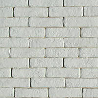 Декоративный кирпич Карат. Цвет белый.