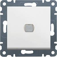 Светорегулятор нажимной диммер LUMINA2 белый Hager WL4030