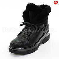 Женские ботинки на толстой подошве, фото 1