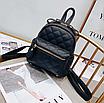 Рюкзак женский трансформер стеганый ELIM PAUL Черный, фото 3