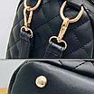 Рюкзак женский трансформер стеганый ELIM PAUL Черный, фото 8