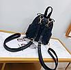 Рюкзак женский трансформер стеганый ELIM PAUL Черный, фото 7