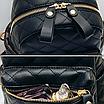 Рюкзак женский трансформер стеганый ELIM PAUL Черный, фото 9
