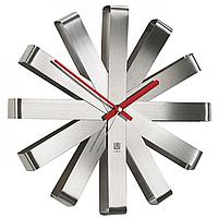 Металлические настенные часы Ribbon Umbra Steel