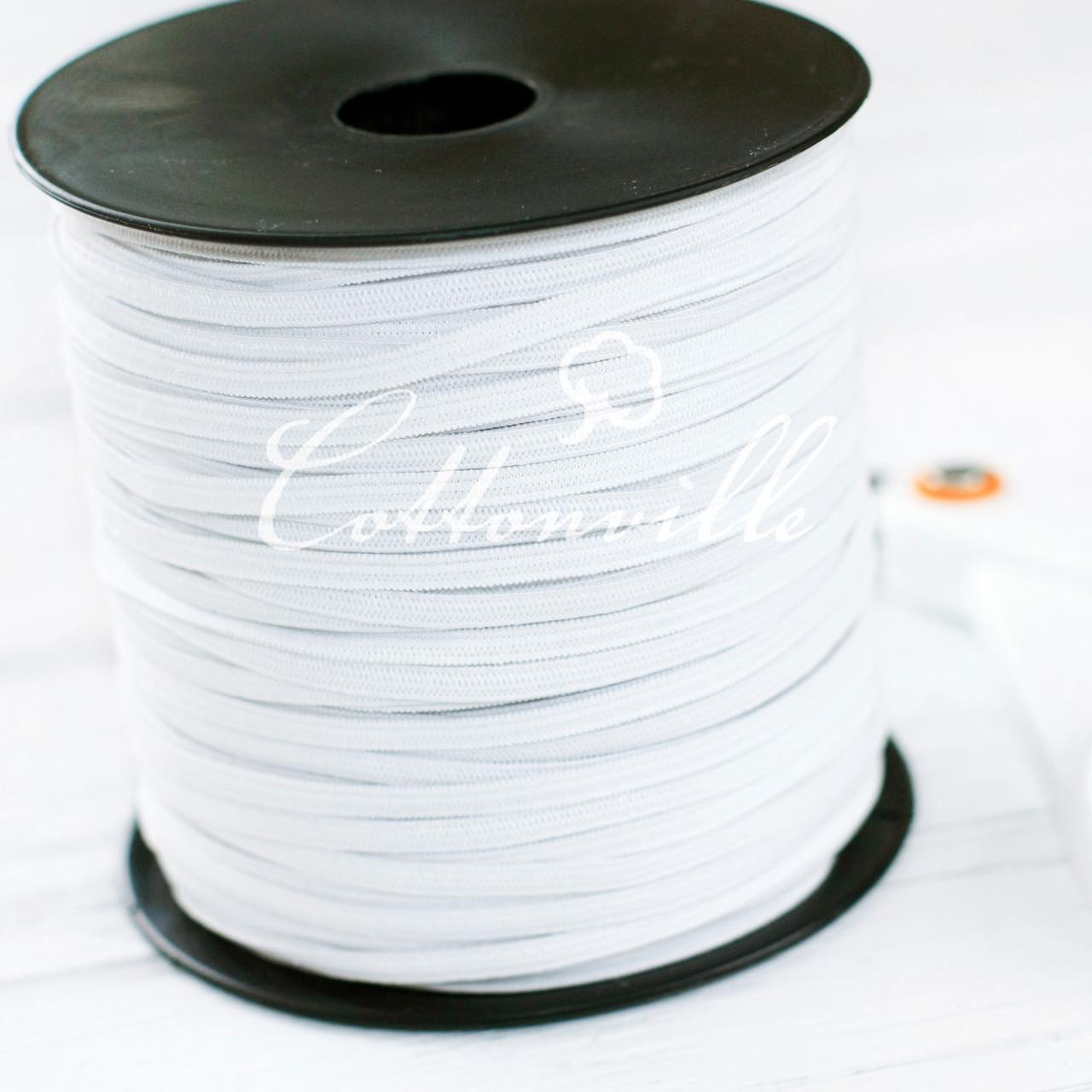 Бельевая резинка белая, 4 мм