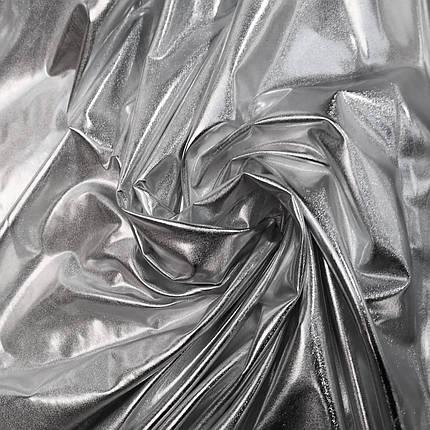 Трикотаж диско серебро, фото 2